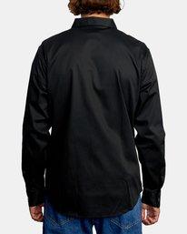 2 Day Shift Long Sleeve Shirt Orange AVYWT00127 RVCA
