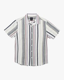 0 REPITITION SHORT SLEEVE SHIRT Silver AVYWT00130 RVCA