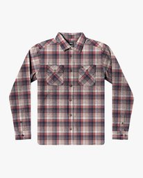 0 EMERSON FLANNEL LONG SLEEVE SHIRT Brown AVYWT00134 RVCA