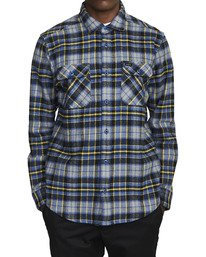 0 OPERATOR FLANNEL LONG SLEEVE SHIRT Multicolor AVYWT00137 RVCA