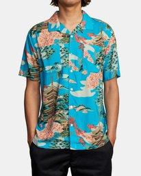 1 Kyuka Short Sleeve Shirt Brown AVYWT00191 RVCA