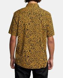 3 Strangers Short Sleeve Shirt Green AVYWT00193 RVCA