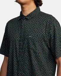 4 Pure Joy Short Sleeve Shirt Black AVYWT00197 RVCA