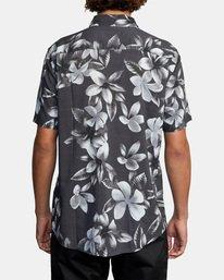2 Lanai Floral Short Sleeve Shirt Black AVYWT00209 RVCA