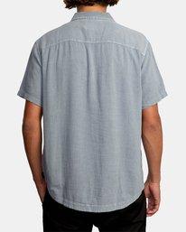 2 Evan Mock | W 16th St. Short Sleeve Shirt Grey AVYWT00213 RVCA