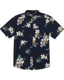 0 Anaheim Short Sleeve Shirt Blue AVYWT00220 RVCA