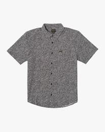 0 Matt Leines | Leines Short Sleeve Shirt Black AVYWT00223 RVCA