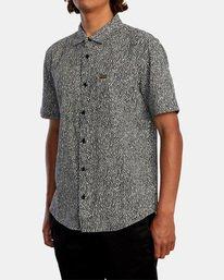 4 Matt Leines | Leines Short Sleeve Shirt Black AVYWT00223 RVCA