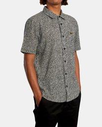 5 Matt Leines | Leines Short Sleeve Shirt Black AVYWT00223 RVCA