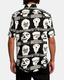 2 Matt Leines   Leines Short Sleeve Shirt Black AVYWT00223 RVCA