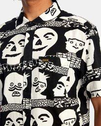 3 Matt Leines   Leines Short Sleeve Shirt Black AVYWT00223 RVCA