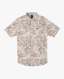 0 Baritone Short Sleeve Shirt White AVYWT00227 RVCA
