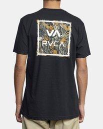3 VA ALL THE WAY SHORT SLEEVE TEE Black AVYZT00149 RVCA