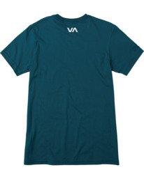 1 VA Sport | Icon Workout Shirt Blue AVYZT00184 RVCA