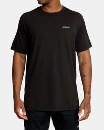 2 VA Sport | Icon Workout Shirt Black AVYZT00184 RVCA