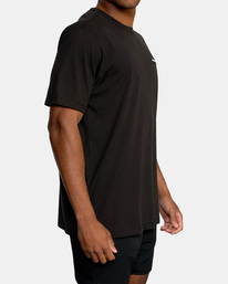 5 VA Sport | Icon Workout Shirt Black AVYZT00184 RVCA