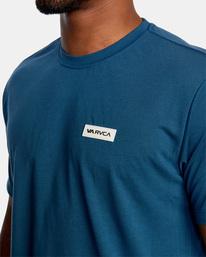 3 VA Sport | Icon Workout Shirt Blue AVYZT00184 RVCA