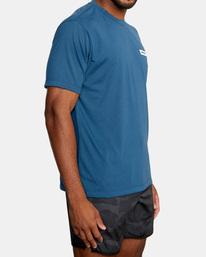 5 VA Sport | Icon Workout Shirt Blue AVYZT00184 RVCA