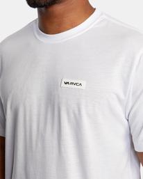4 VA Sport | Icon Workout Shirt White AVYZT00184 RVCA