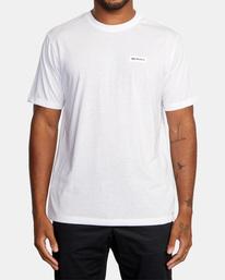 2 VA Sport | Icon Workout Shirt White AVYZT00184 RVCA