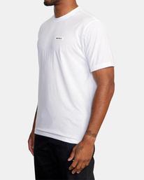 5 VA Sport | Icon Workout Shirt White AVYZT00184 RVCA