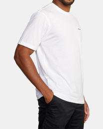6 VA Sport | Icon Workout Shirt White AVYZT00184 RVCA