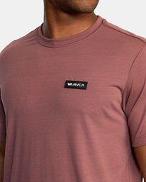 7 VA Sport   Icon Workout Shirt White AVYZT00184 RVCA