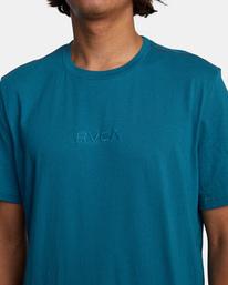 5 SMALL RVCA SHORT SLEEVE TEE Blue AVYZT00214 RVCA