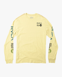 0 ANP LONG SLEEVE TEE Yellow AVYZT00222 RVCA