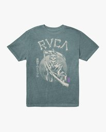 0 TROUBLE IN PARADISE SHORT SLEEVE TEE Purple AVYZT00253 RVCA