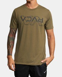 0 VA OUT TEE Green AVYZT00320 RVCA
