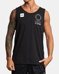 0 VA MARK TANK Black AVYZT00351 RVCA