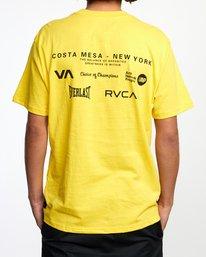 3 RVCA EVERLAST CM NY SHORT SLEEVE TEE Multicolor AVYZT00397 RVCA