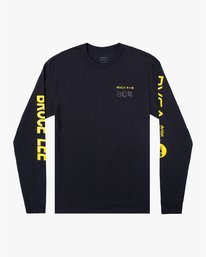 0 BRUCE LEE AS YOU THINK LONG SLEEVE TEE Black AVYZT00439 RVCA
