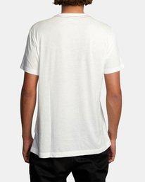 2 Ben Horton | Wyld Horses Short Sleeve Tee White AVYZT00460 RVCA