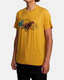 3 Ben Horton | Wyld Horses Short Sleeve Tee Multicolor AVYZT00460 RVCA