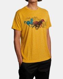 4 Ben Horton | Wyld Horses Short Sleeve Tee Multicolor AVYZT00460 RVCA