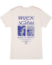 0 Versus Short Sleeve Tee White AVYZT00464 RVCA