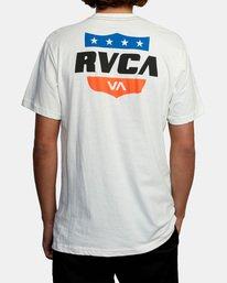 3 RODEO TEAM SS White AVYZT00471 RVCA