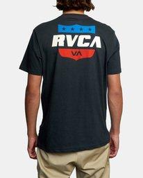 3 RODEO TEAM SS Black AVYZT00471 RVCA