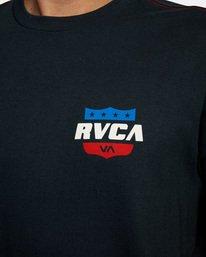 5 RODEO TEAM SS Black AVYZT00471 RVCA