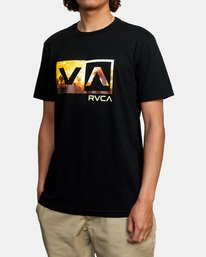 4 BALANCE BOX SS Black AVYZT00479 RVCA