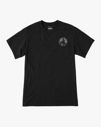 0 Pascifist Short Sleeve Tee Black AVYZT00483 RVCA