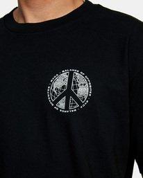 5 Pascifist Short Sleeve Tee Black AVYZT00483 RVCA