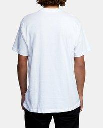 2 Krome Short Sleeve Tee White AVYZT00486 RVCA