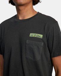 6 Unbroken Short Sleeve Tee Black AVYZT00492 RVCA