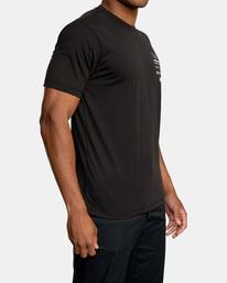 5 Reflective RVCA Balance Box Short Sleeve Tee Black AVYZT00517 RVCA