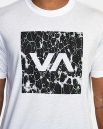 5 VA Box Fill Short Sleeve Tee White AVYZT00518 RVCA