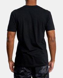 2 Billboard Workout Shirt Black AVYZT00530 RVCA