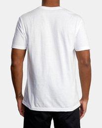 3 Billboard Workout Shirt White AVYZT00530 RVCA